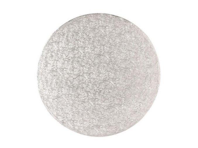 tenký stříbrný kruh