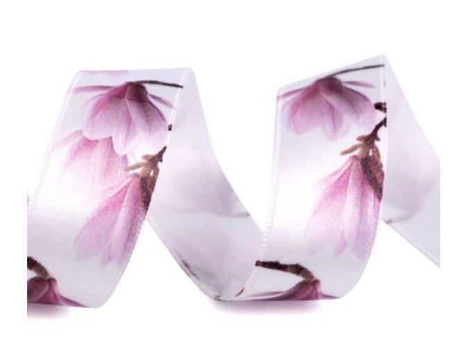 stuha s magnolii fial