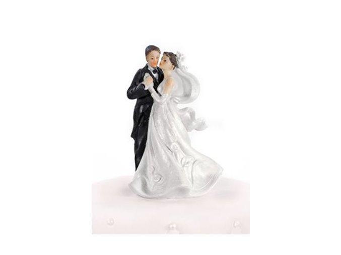 svateb. figurka novomanželé tančící