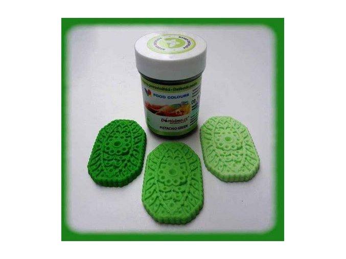 Barva gel. pist. zelená