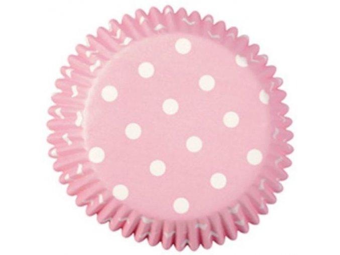 košíčky wilton růžové