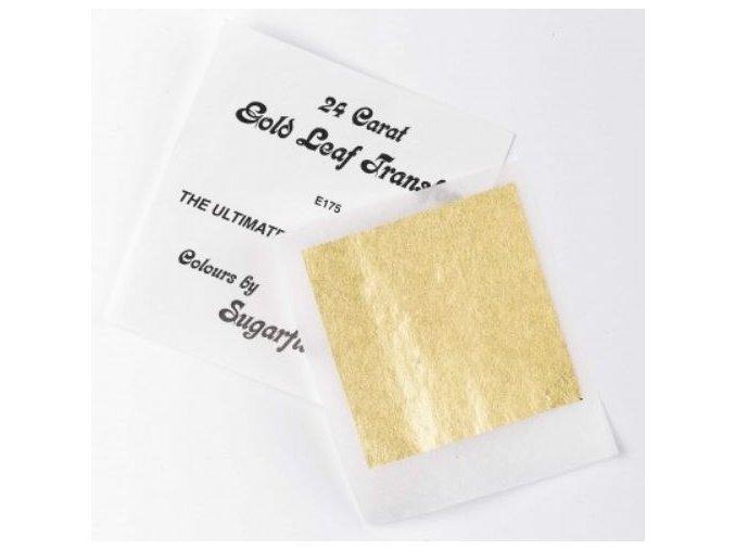 plát zlatý