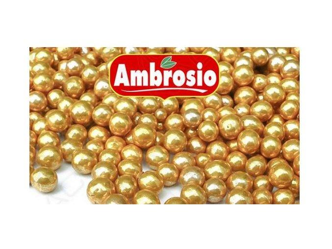 cukr. perly 6 mm zlaté