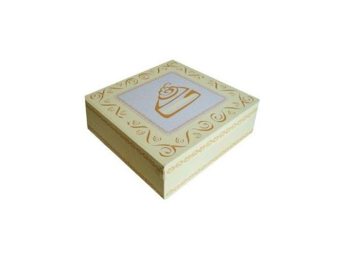 krabice na dorty s potiskem