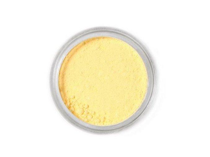 prach. Light yellow