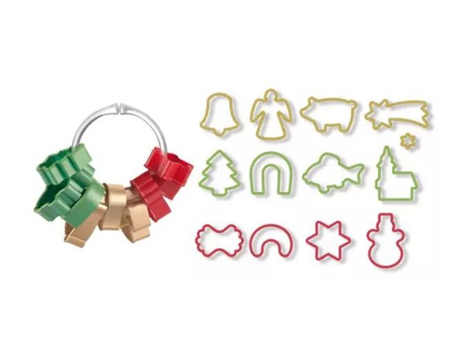 vykrajovátka vánoční