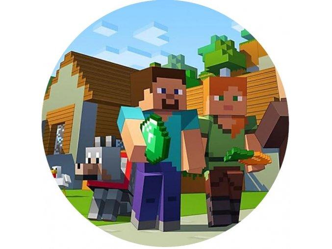 Minecraft 1 kruh 20 cm