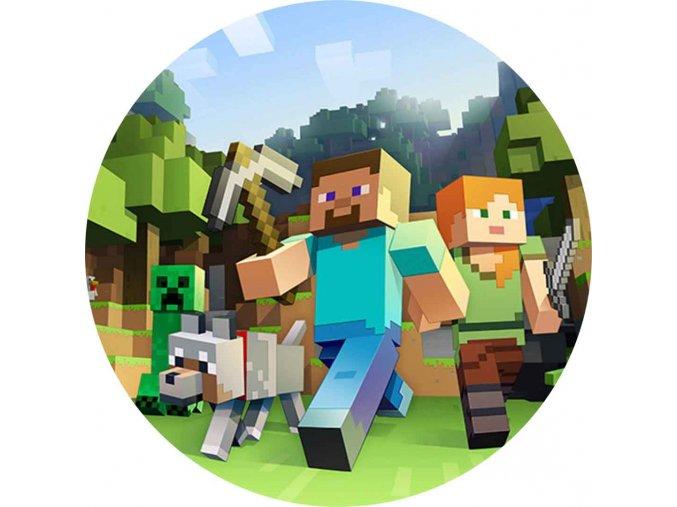 Minecraft kruh 4