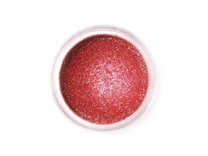 prach. Sparkling deep red
