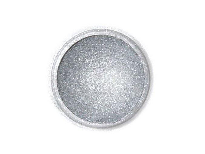 prach. Dark silver