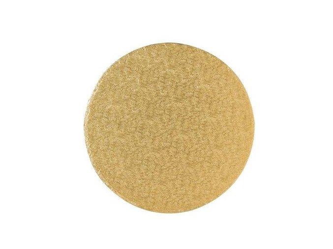 podložka pevná zlatá kruh