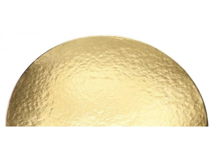 podložka pevná zlatá kruh DO