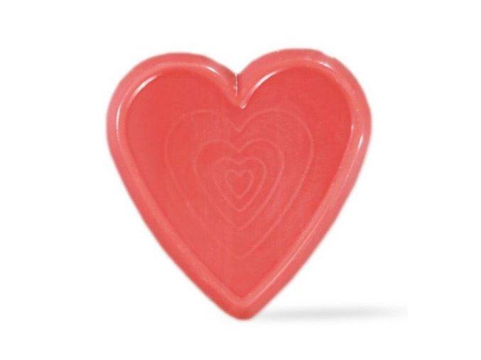 srdce čokoládové červené