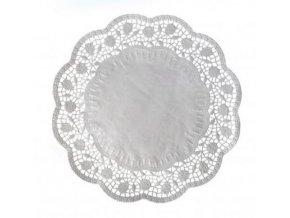 papírová krajka pod dort