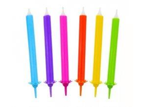 svíčky duha