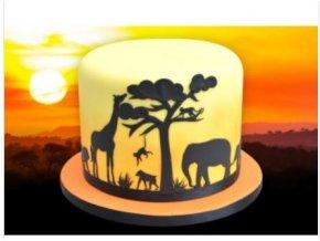 Safari siluety