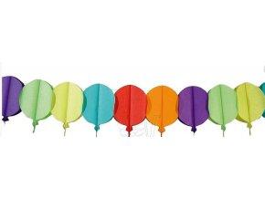 pap girlanda balonky