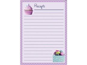 listy fialové