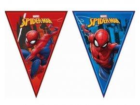 vlaj. girlanda spiderman