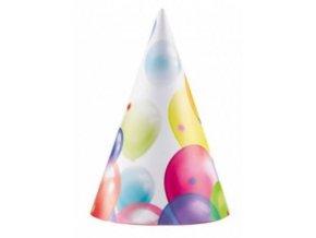 čepičky s balonky