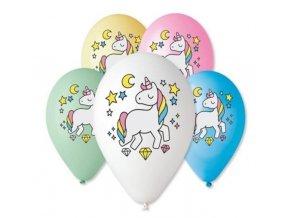 latex balonek jednorožec 30