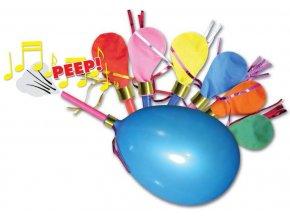 balonky pískající