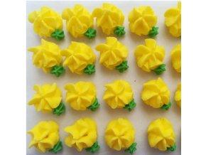 cukr. karafiáty žluté malé