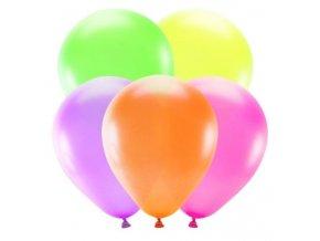 neonové balonky