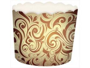 kartonový košíček káva