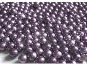 fialové metalické perly