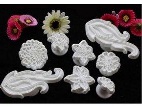 Květiny embossery