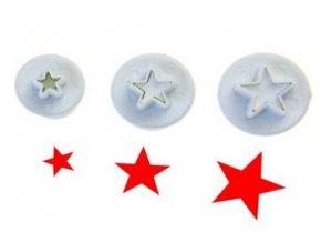 hvězdičky plast