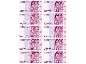 Bankovky 500 EUR