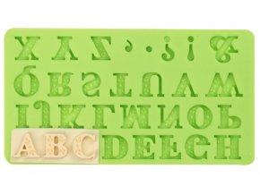 abeceda ozdobná