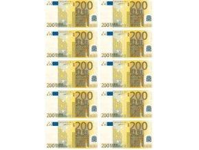 Bankovky 200 EUR