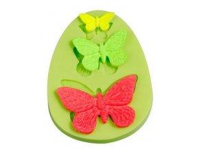 Motýli 3 velikosti