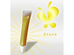 žlutá glitter