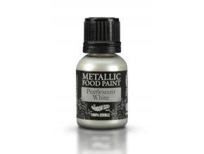 metalická white