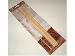 bambusové sloupky