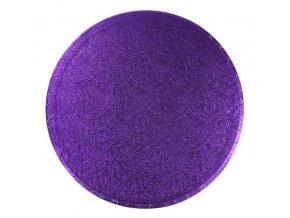 podložka kruh fialová