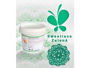 sweet lace zelená