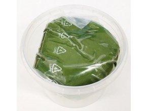 plastická čokol. tm. zelená