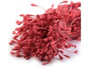 pestíky ploché červené