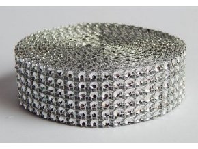 diamant. pás stříbrný