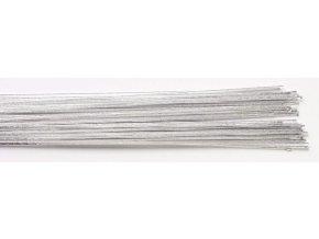 aran. drátek stříbrný