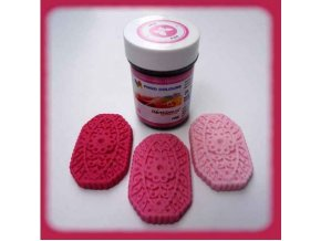 Barva gel. růžová