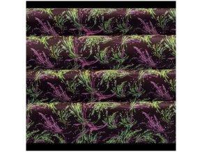 zelené a fialové větvičky transf.