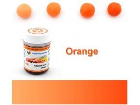 oranžová gel.