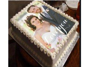 foto cake s textem