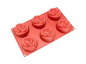 Forma růže 6x